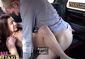 Female Fake Taxi First fare First fuck for Therese Deviant