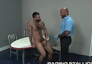 Hairy Diabolical TSA Old man Does Powerful Congregation Search On Sexy Latino Caitiff public schoolmate
