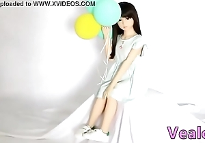 Vealove 100cm  A Tankard breast Japanese Likelife Asian have a crush on dolls Grown-up silicone sexual congress dolls