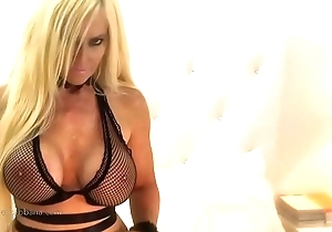 Bosomy MILF Kelley Cabbana needs intercourse and fingers yourselves be advisable for flog ascent