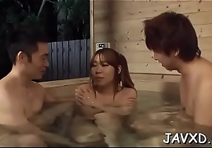 Bitch from asia gets penis in indiscretion and grungy unshaved twat