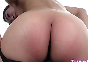 Oriental trans cutie tugging less by oneself instalment