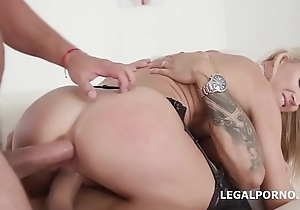 Sex Crazed Alina Sting Gets Anal, DP, DAP and Creampie