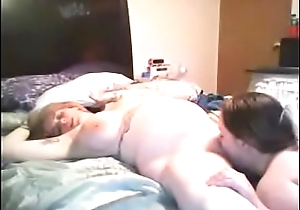 2 well-spoken wives shellacking plus sucking threesome