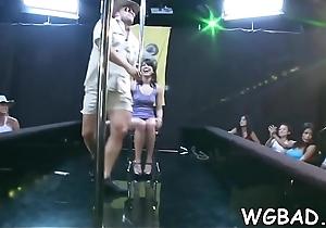 Hawt strippers get their hawt ramrods devoured