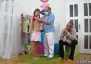Falsify stares hymen checkup added to virgin venerated nailing