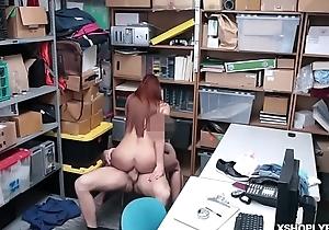 LP Office-holder banging the Czech shoplyfter Ornella Morgan!