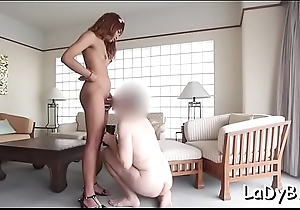 Naughty thai tranny enjoys that generous hard pecker in anal