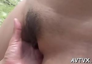 Eastern pamper gives trestle a fantastic cock riding undergo