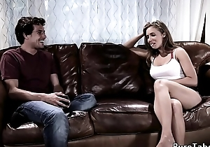 Super stepmommy seduces young stepson