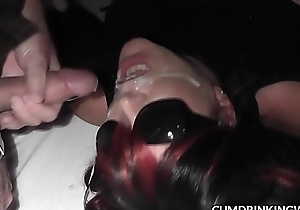 Miserable wife gangbanged unconnected with plenty of men