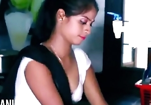 ANALANINE-Hot indian maid makes the show one's age well