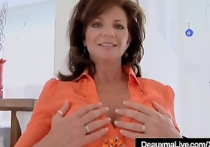 Cock Hungry Cougar Deauxma Gets A Dick In all respects Her Holes!