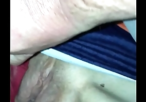 Fingering Sleeping Wife&rsquo_s Pussy