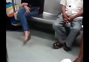 Sexual connection delhi metro