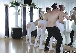 Teen student anal troop and russian home amateur orgy Ballerinas