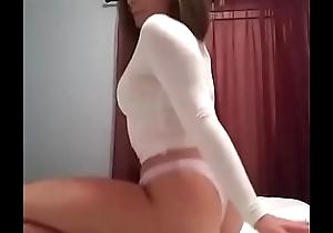 Big Booty Flaxen-haired Twerking
