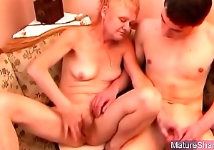 Age-old Tow-haired Fucked Hard