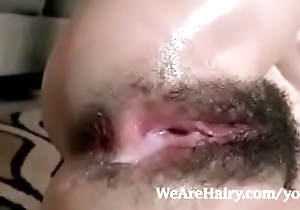 Bedazzle Emma evins gets her hairy pussy creampied