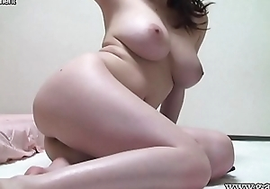 Naked Japanese Incompetent Big Tits in the Cell