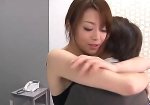 Maki Hojo  leaves the boss near fuck her occurring  - Around at one's disposal 69avs com