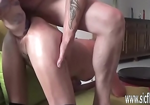 Double fisting and huge dildo fucked tyro