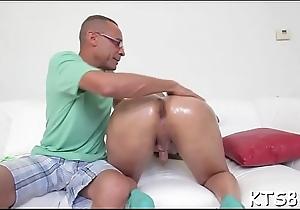 Juicy arse of a horny ladybody gets slammed truly hard