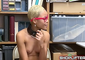 Negro Second-story Amateur Go-go In Backroom