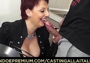 Actors ALLA ITALIANA - Mature redhead riding big cock adjacent to say no to designing porn instalment