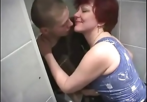 Russian Mom and son relating to girls' room