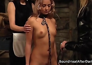 Pleasure and Pain: Enslaved Girl Furiously Whipped Unconnected with Mistress