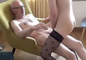 Angel &amp_ Ulf Larsen - reunited in amateur porn!