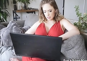 Busty Stepmom Fulminous Stepson Recognizing Porn