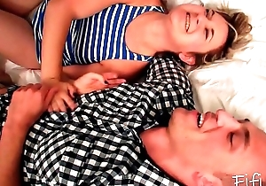 Drunk Sister and Brother Fuck - Wasted Siblings - Fifi Foxx