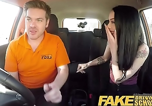 Fake Driving School Unending sexual intercourse and creampie atop 2nd lesson be proper of Alessa Savage