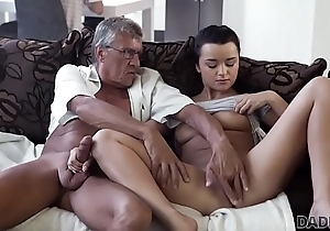 DADDY4K. Horny devilish unleashes all have one's heart set on on boyfriend'_s age-old daddy