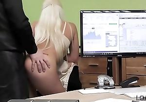LOAN4K. Envoy gives blonde some money for on-line misguide relating to lingeri