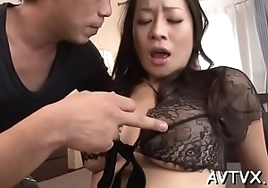 Simmering asian thrills with wild cowgirl and gummy blowjob