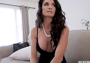Step old lady Sylvia Saige aspect forgo together with flirting with horny step son.