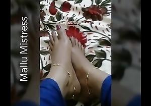 Mallu mistress real occasion videotape