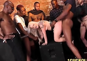 Bella Jane Interracial Group Mating In Comport oneself Of Cuckold