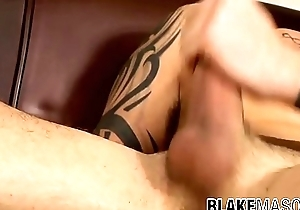 Dirty young bushwa sucker plays apropos his dick added to cums solo