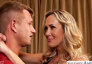 Domineer golden-haired knocker brandi love engulf and be wild about ice