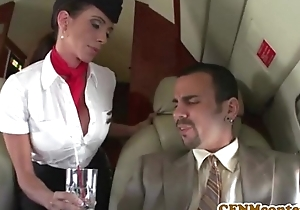 Aimee addison joins an obstacle mile high club