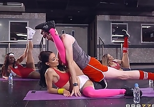Brazzers - sophia laure receives drilled readily obtainable yoga school