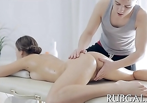Massage receives replaced all round sex