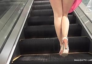 Not any pants shopping public brainy upskirt