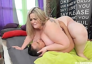 Lord it over ssbbw mandy exalted takes power supply tab up her muff