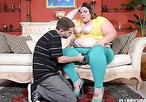 Beamy horny white become man car breaksdown and this babe acquires wazoo screwed