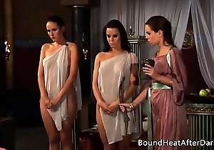 Lesbian slave's revenge: a fantasy of threesomes